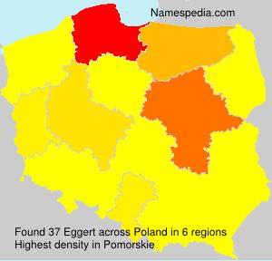 Familiennamen Eggert - Poland