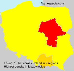 Surname Eibel in Poland