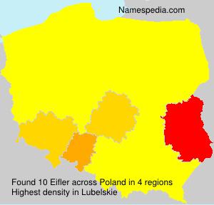Surname Eifler in Poland