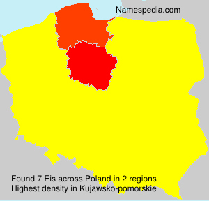 Surname Eis in Poland