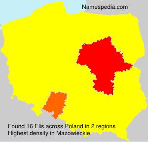Surname Elis in Poland