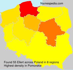 Surname Ellert in Poland