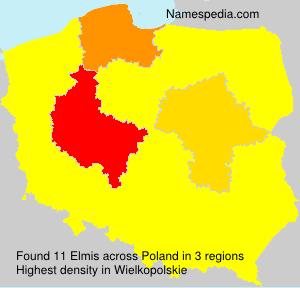 Surname Elmis in Poland