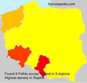 Surname Felkle in Poland
