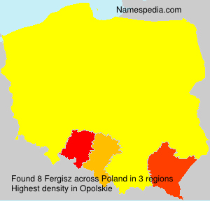 Surname Fergisz in Poland