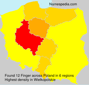 Surname Finger in Poland
