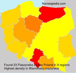 Surname Flaszynska in Poland