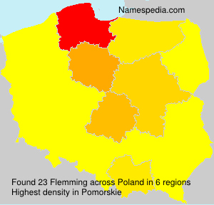 Surname Flemming in Poland