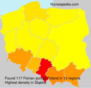 Surname Florian in Poland