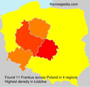 Surname Frankus in Poland