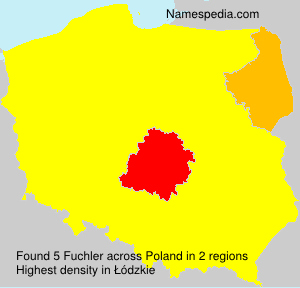 Surname Fuchler in Poland