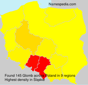 Surname Glomb in Poland