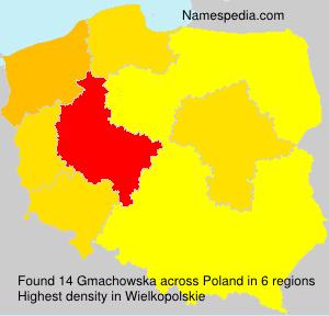 Surname Gmachowska in Poland