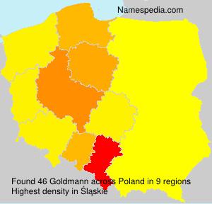 Familiennamen Goldmann - Poland
