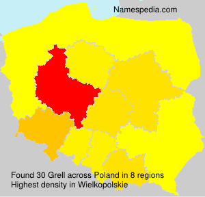 Surname Grell in Poland
