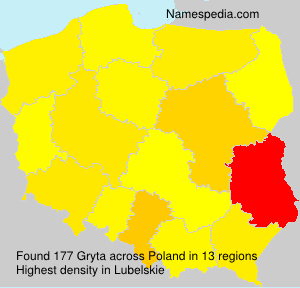 Surname Gryta in Poland