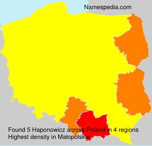 Haponowicz