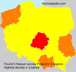 Surname Hassan in Poland