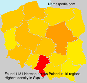Surname Herman in Poland