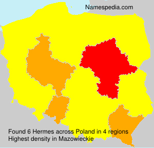 Surname Hermes in Poland
