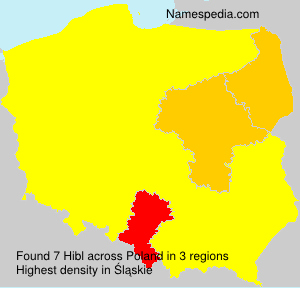 Surname Hibl in Poland