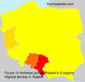 Surname Hoheisel in Poland