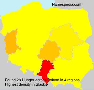 Surname Hunger in Poland