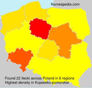 Familiennamen Ilecki - Poland