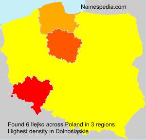 Surname Ilejko in Poland