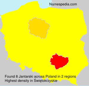 Surname Jantarski in Poland