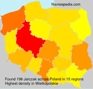 Surname Jarczak in Poland