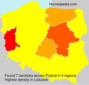 Surname Jarmicka in Poland