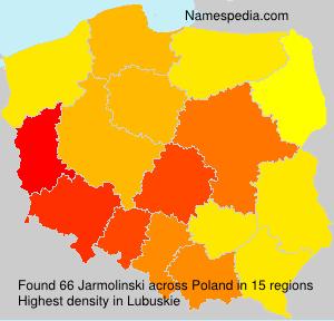 Familiennamen Jarmolinski - Poland