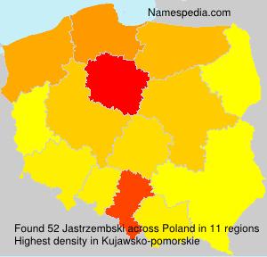 Surname Jastrzembski in Poland