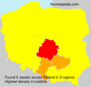 Surname Jaszko in Poland