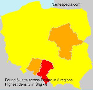 Surname Jatta in Poland