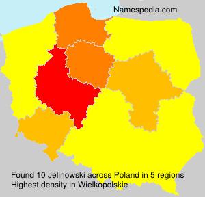 Familiennamen Jelinowski - Poland