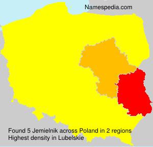 Familiennamen Jemielnik - Poland