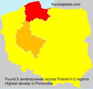 Familiennamen Jendraszewski - Poland