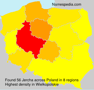 Surname Jercha in Poland