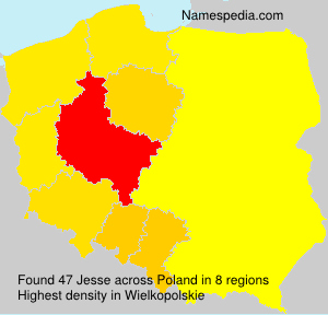 Surname Jesse in Poland