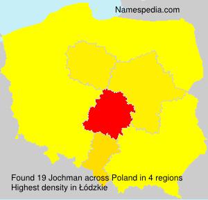 Surname Jochman in Poland