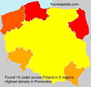 Surname Jodel in Poland
