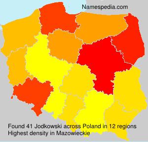 Familiennamen Jodkowski - Poland