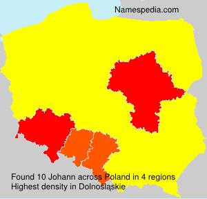 Surname Johann in Poland
