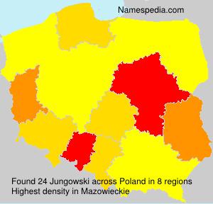 Familiennamen Jungowski - Poland