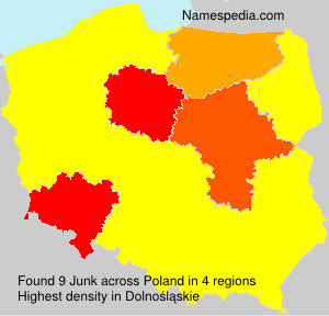 Surname Junk in Poland