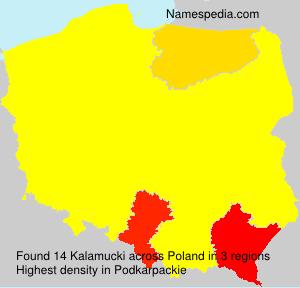 Familiennamen Kalamucki - Poland