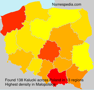 Surname Kalucki in Poland