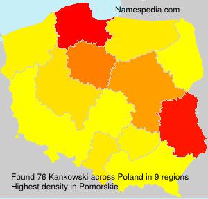 Surname Kankowski in Poland